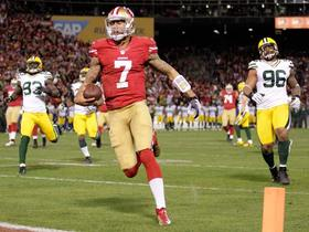 Video - San Francisco 49ers quarterback Colin Kaepernick  20-yard touchdown