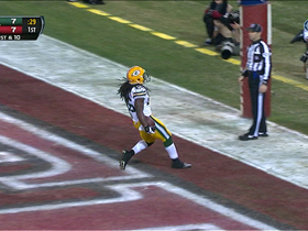 Video - Green Bay Packers running back DuJuan Harris 18-yard touchdown