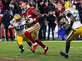 Video - San Francisco 49ers wide receiver Michael Crabtree 20-yard touchdown