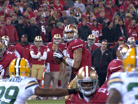Video - San Francisco 49ers wide receiver Michael Crabtree 12-yard touchdown
