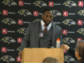 Video - Baltimore Ravens linebacker Ray Lewis: 'One of the greatest wins in Ravens history'