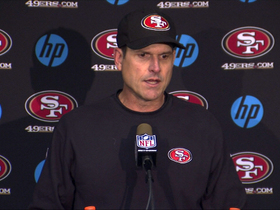 Video - Harbaugh: 'They competed like maniacs'