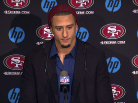 Video - Kaepernick on record: 'It's a great accolade'