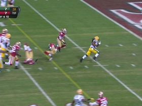 Watch: RB Harris, 18-yd, run, TD