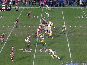 Watch: QB Rodgers to WR Jones, 20-yd, pass, TD