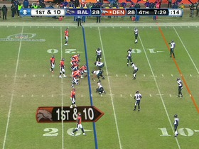 Watch: QB Manning to WR Thomas, 17-yd, pass, TD