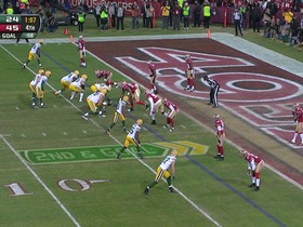 Watch: QB Rodgers to WR Jennings, 3-yd, pass, TD