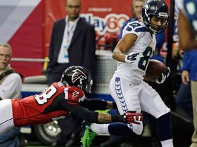 Video - Seattle Seahawks quarterback Russell Wilson hits wide receiver Golden Tate on a 29-yard touchdown