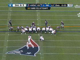 Video - Houston Texans kicker Shayne Graham hits record 55-yard FG