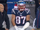 Watch: Gronkowski injures forearm