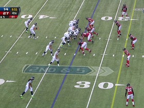Watch: QB Wilson to RB Turbin, 30-yd, pass