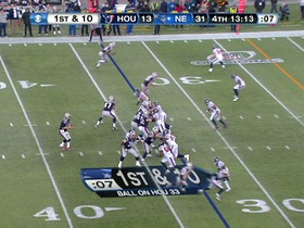 Watch: QB Brady to RB Vereen, 33-yd, pass, TD