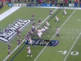 Watch: QB Schaub to RB Foster, 1-yd, pass, TD, 4th down conversion