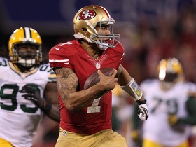 Video - Bigger story: San Francisco 49ers QB Colin Kaepernick's running or passing?