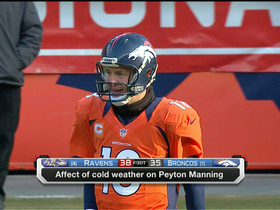 Video - Did the weather affect Denver Broncos quarterback Peyton Manning?