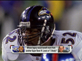 Watch: Greater legacy: Tom Brady vs. Ray Lewis