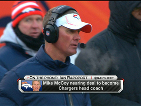 Video - Denver Broncos offensive coordinator Mike McCoy nearing a deal to become Chargers head coach