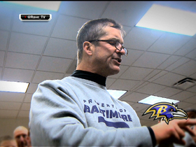 Watch: Harbaugh gets a special text