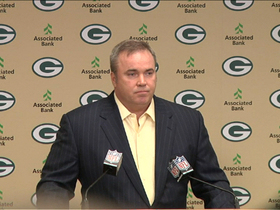 Video - Green Bay Packers head coach Mike McCarthy: 'I have great faith and respect for Dom Capers'