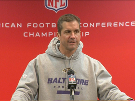 Video - Baltimore Ravens head coach John Harbaugh: 'We have grown a lot'