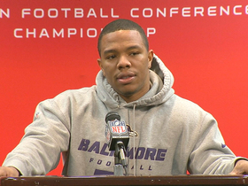 Video - Baltimore Ravens running back Ray Rice: 'players decided that we have to execute at a high level'