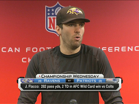 Video - Baltimore Ravens quarterback Joe Flacco looking to overcome AFC title game hurdle