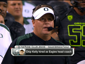 Video - Philadelphia Eagles DT Cullen Jenkins impressed with Chip Kelly's accomplishments