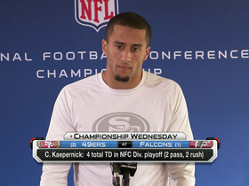 Video - San Francisco 49ers quarterback Colin Kaepernick: 'You get one shot'