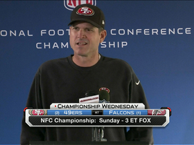 Video - Harbaugh: 'It's our job to win the next game'