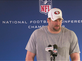 Video - San Francisco 49ers defensive end Justin Smith ready for Super Bowl run
