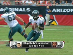 Video - What will be Philadelphia Eagles head coach Chip Kelly's impact on quarterback Michael Vick?