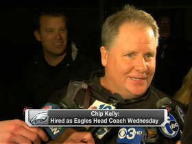 Video - Chip Kelly arrives in Philly