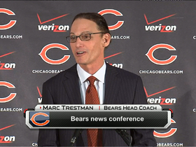 Video - Trestman: 'I'm excited to have four downs'