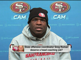 Video - San Francisco 49ers running back Frank Gore's confident in Kaepernick