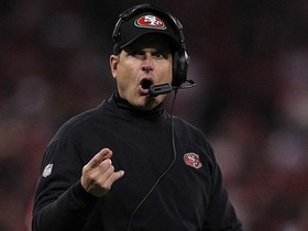 Video - San Francisco 49ers head coach Jim Harbaugh looking to overcome Super Bowl hurdle