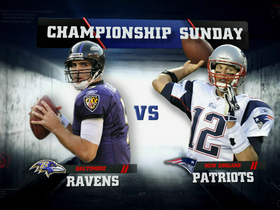 Video - AFC Championship Game: Baltimore Ravens vs. New England Patriots