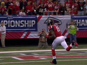 Video - Atlanta Falcons quarterback Matt Ryan to wide receiver Julio Jones 46-yard TD