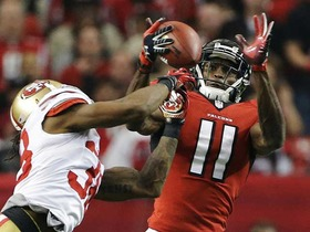 Video - Atlanta Falcons wide receiver Julio Jones makes big catch