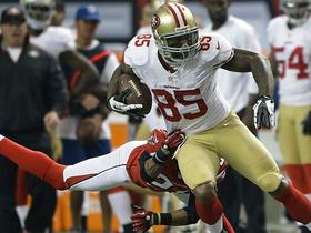 Video - San Francisco 49ers tight end Vernon Davis 27-yard reception