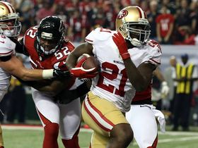 Video - San Francisco 49ers running back Frank Gore 5-yard TD rush