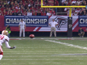 Video - San Francisco 49ers cornerback Chris Culliver intercepts Matt Ryan