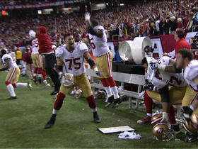 Video - San Francisco 49ers' fourth-down stop seals Super Bowl berth