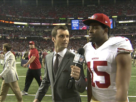 Video - San Francisco 49ers wide receiver Michael Crabtree is Super excited