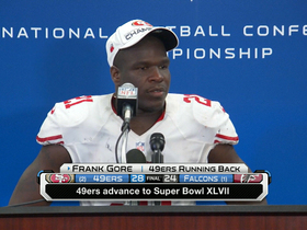 Video - San Francisco 49ers running back Frank Gore: 'A long eight years'