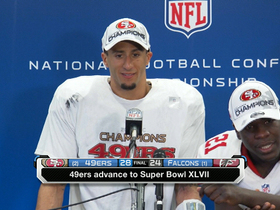 Video - San Francisco 49ers quarterback Colin Kaepernick postgame press conference