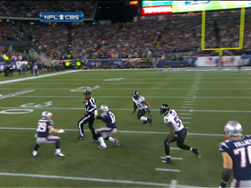 Video - New England Patriots quarterback Tom Brady runs into referee
