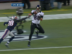 Video - Baltimore Ravens tight end Dennis Pitta 5-yard TD catch