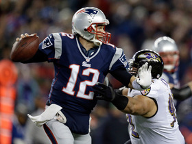 Video - AFC Championship Game: New England Patriots quarterback Tom Brady highlights
