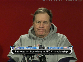 Video - Bill Belichick: 'They just outplayed us and outcoached us tonight'