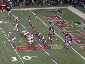 Watch: Falcons defense, fumble recovery